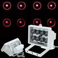 8LED 12V Night Vision Lamp IR Illuminator Infrared Light for Security Camera