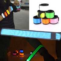 Night Luminous LED Lap Circle Reflective Wrist Band Arm Party Supplies Luminous Party Pops