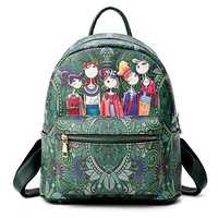 Women Bohemian Forest Series Backpack