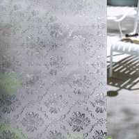 90x100cm Frosted Opaque Glass Window Film Privacy Glass Stickers Window Grille Home Decor