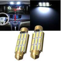 42MM White 9 SMD Number Plate Interior LED Reading Light Festoon Bulb Error Free