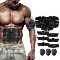 KALOAD 12PCS EMS Arm Abdominal Muscle Trainer Body Beauty ABS Stimulator