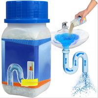 NEW 268g Super Powerful Sink & Drain Cleaner Powder Kitchen Toilet Bathroom