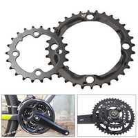 32T/22T Round Black Chainring Bicycle Repair Discs For 9 Speed Crank CrankSet