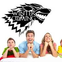 Game of Thrones House Stark Wolf Vinyl Sticker Decal HBO Winter Is Coming