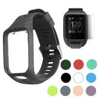 Bakeey Replacement Silicone Watch Band Strap for Smart Watch TomTom 2/3 series