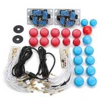 Arcade DIY Kits Parts USB Encoder For PC Joystick With 20Pcs Buttons