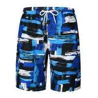 Painting Printing Loose Casual Beach Holiday Board Shorts