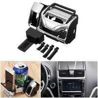 Multifunctional Car Bottle Phone Cigarette Drink Beverage ABS Holder