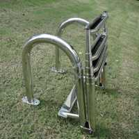 Stainless Steel Swimming Pool 4 Step Ladder Dock Boat Ladder Decorative Hardware