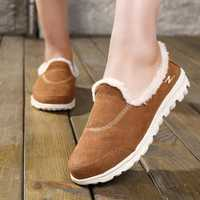Slip On Casual Comfy Keep Warm Flat Loafers