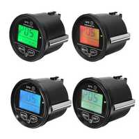 60mm GPS Speedometer Odometer LCD Digital Display 12V 24V for Motorcycle Marine Boat Truck