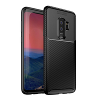 Bakeey Protective Case For Samsung Galaxy S9 Plus Slim Carbon Fiber Fingerprint Resistant Soft TPU Back Cover