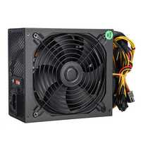 800W Computer Power Supply Module PC 24Pin SATA 6Pin 8Pin LED Fan 140mm