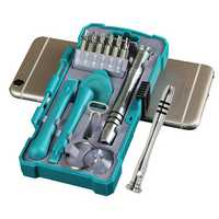 Bakeey 18 In 1 Mini Precision Screwdriver Set Open Pry Repair Tool Kit for Phone/Small Electronics