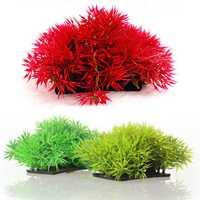 Artificial Grass Aquarium Decor Water Weeds Ornament Plant Fish Tank Decorations & Ornaments