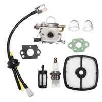 Carburetor Kit For Zama C1U-K43B Echo PB2155 Leaf Debris Blower Air Filter Fuel Line Parts