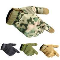 Three Soldiers Outdoor Tactical Glove Full Finger Tactical Gloves Slip Resistant Gloves For Cycling Camping Hunting-M L XL