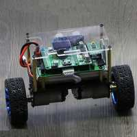 STM32 Self-Balancing Smart RC Robot Car Ultrasonic Obstacle Avoidance Following With F405RGT6 Main Board
