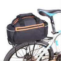 BIKIGHT 14L Bicycle Bag Bike Rear Pannier Seat Rack Bag Waterproof Cycling Pannier Bag