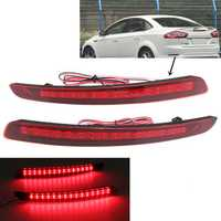 LED Rear Bumper Reflector Light Warn Tail Brake Lamp for Ford Mondeo Fusion 2011-2012