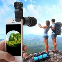 PUROO 8x21 Monocular Telescope Lens for iPhone Samsung HTC Smartphone Camera