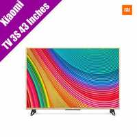 Xiaomi TV 3S 43 Inch English Menu 1920x1080 Full HD Quad Core Support bluetooth Household TV