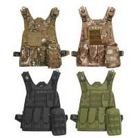Swat Battle Tactical Lightweight Military Airsoft Combat Assault Carrier Vest