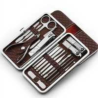 18pcs Nail Clipper Scissor Manicure Set