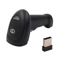 YOKO WM3 2D/QR/1D Wireless bluetooth Barcode Scanner Multi-Language CMOS Scanner USB Interface High Speed 230Times/second for iOS Android Windows Linux