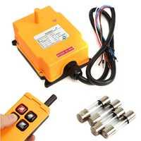 220VAC HS-4 Crane Remote Control Button Switch System