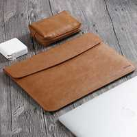 13.3 Inch Taikesen Leather Waterproof Sleeve Bag Laptop Bag For 13.3