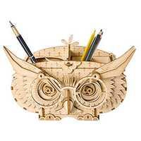 Robotime TG405 Owl Shortage Box Modern 3D Wooden Puzzle Mechanical Jigsaw Education Toy