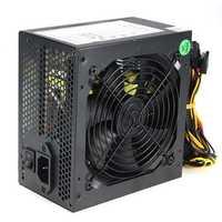 550W 120mm Fan ATX SATA PCI-E Power Supply for Intel AMD PC Unit