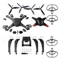 Body Cover Shell Spring Landing Gear Propellers Prop Guards Protection Set for BAYANGTOYS X21 Drone