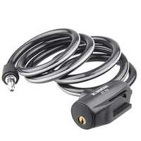 ETOOK ET151 1500mm MTB Bike Lock Anti Theft Reflective With Holder Steel Saw Safety Cable Lock
