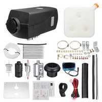 12V 8KW Diesel Air Heater Diesel Fuel Parking Heater LCD Switch Warming Equipment Kit 10L Tank