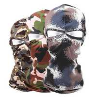 Camouflage Outdoor Full Face Mask