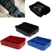 Car Center Console Glove Arm Rest Storage Box Tray For Toyota RAV4 13-15