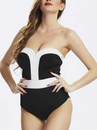 Wire Free One Piece Swimsuit Beachwear