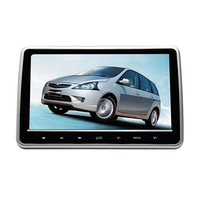 10.1 Inch HD Digital LCD Screen Car Head Rest Monitor DVD USB SD Player IR FM