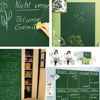 Useful Chalk Board Blackboard Removable Vinyl Wall Sticker Decal Chalkboard Wall Sticker for Kids DIY