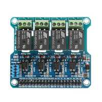 4 Channel 5A 250V AC/30V DC Compatible 40Pin Relay Board For Raspberry Pi A+/B+/2B/3B