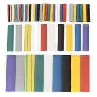 DANIU 500PCS Halogen-Free 2:1 Heat Shrink Tubing Wire Cable Sleeving Wrap Wire Kit φ1.0/3.0/4.0/6.0/8.0/12.0mm Internal Diameter