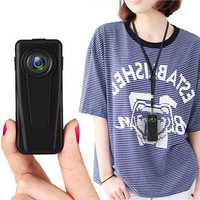 XANES F1 HD 1080P Mini Camera Vlog Camera for Youtube Recording 140° Wide Angle Police Camera Security Guard Recorder Wearable Body Camera