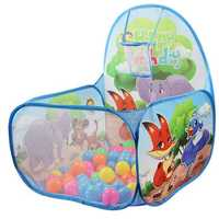 60CM Baby Toys Tent Ocean Plastic Ball Pool Camping Indoor Basketball Basket Play Tent
