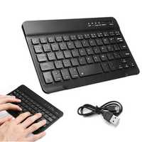 59 Keys Wireless Bluetooth Keyboard For iOS Android Windows Devices iPhone iPad Macbook Samsung