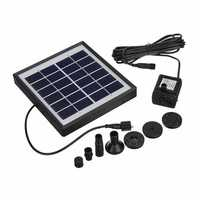 1.5W Brushless DC Multi-functional Solar Panel Fountain Pump Aquarium Fish Tank Pond Oxygen Pump