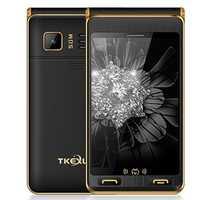 TKEXUN G10+ Flip Analog TV 6500mAh 4.0 Inch Dual Touch Screen Dual Flashlight Dual SIM Feature Phone