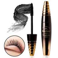 3D Black Lengthening Curly Eyelash Mascara Makeup Waterproof Long-Lasting